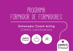 Formador de Formadores: Coach Acting Methodology International Certification