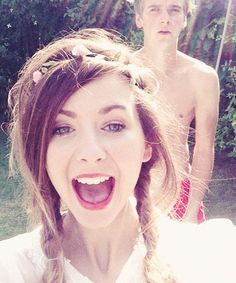 @Zoe James James Sugg:Hi, we're Zoe (23) & Joe (21) and we still play in paddling pools when it's hot...