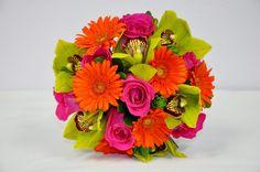 Wedding Bouquet, Bright sunshine bouquet. DEMCO Florist Bermuda. Photo by Tori Lindo
