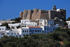 Patmos Island. The stunning beauty of Hóra, a carefully preserved medieval settlement with narrow, maze-like alleys and stone-built houses will take your breath away.