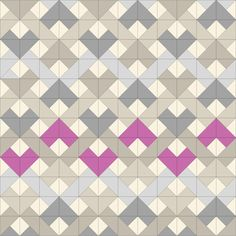Fantastic modified woven chevron workup by Anne Sullivan of Play Crafts.