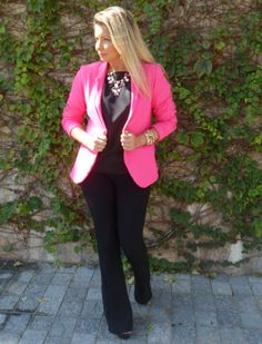 Look Work – Preto e Pink