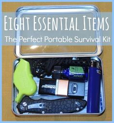 The Perfect Portable Survival Kit - Backdoor Survival