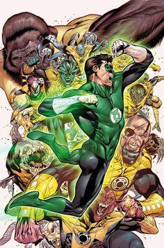 Hal Jordan and the Green Lantern Corps Vol. 1 #6 - Rafa Sandoval, Jordi Tarragona & Tomeu Morey
