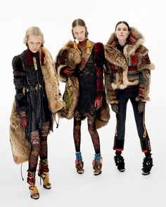 @Dsquared2 Campaign: FALL WINTER 2016 ADVERTISING CAMPAIGN Fashion Advertising, Advertising Campaign, Ski Fashion, Fashion Show, Rocker Chick, Fabulous Furs, Fashion Lookbook, Dsquared2, Editorial Fashion