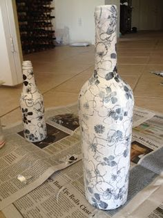 Cara Young: Wine Bottle Craft