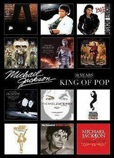 "MICHAEL JACKSON POSTER ""ALBUM COVERS"" LICENSED ""BRAND NEW"" - http://www.michael-jackson-memorabilia.co.uk/?p=8890"