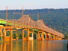 BB Comer Bridge in Scottsboro AL From Scottsboro going up the mountain to Section and Sand Mountain, AL.