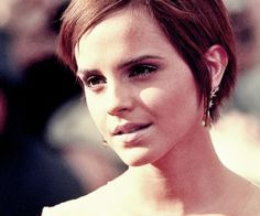 Growing Out a Pixie Cut | Emma Watson growing out pixie haircut. | A Pixie Addiction!