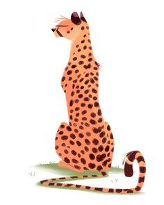 476: Guepardo Mi gatito grande favorita