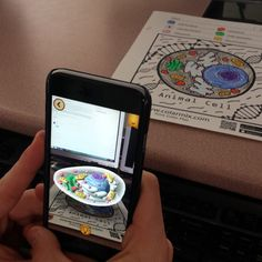 3D coloring helped my antsy H.S. ss focus on this last day before Spring Break. #edtech #CTE #oklaed #colARapp #AR