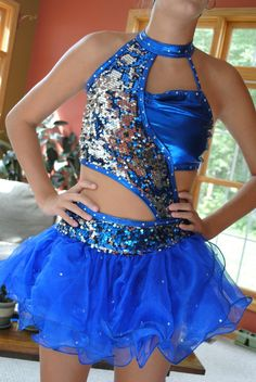 Custom Made Dance Costume Jazz Contemporary Open | eBay