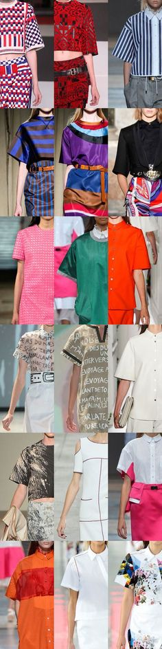 Short Sleeve Variety for Spring 2014 - YLF