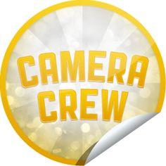 Camera Crew Gold Sticker | GetGlue