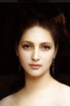 Love this painting. What a talented artist! French artist William Bouguereau ~ (1825-1905)