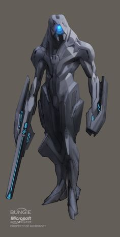 Source: xactregar - http://xactregar.tumblr.com/post/17805364680/forerunner-combat-skin-it-would-have-made-a-lot