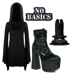 """""""SuperWitches"""" by witchymedusa on Polyvore featuring Mode, Killstar und Demian Renucci"""