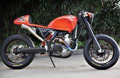 "motographite: KTM 525 EXC ""CAFE RACER"" by ROLAND SANDS"