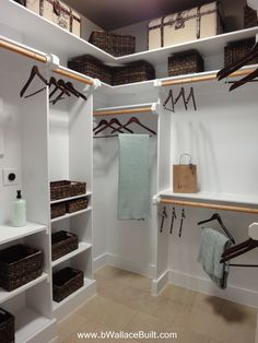 Tablillas superiores … #customclosets