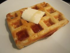 Sophie in the Kitchen: Eggless Waffles - No eggs?  No problem!