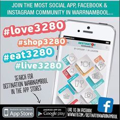 #destinationwarrnambool yes we have an app and you can download it for free in the App Store or google play #love3280 #live3280 #eat3280 #shop3280 #warrnambool by destinationwarrnambool http://ift.tt/1LWgNOG
