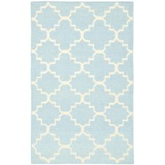 Found it at Wayfair.co.uk - Dhurrie Light Blue Area Rug