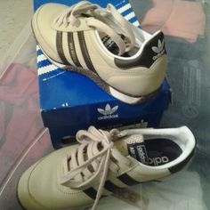 Adi speed style 749997 storm/brown Striped adi speed lea khaki worn once negotiable in price Adidas Shoes