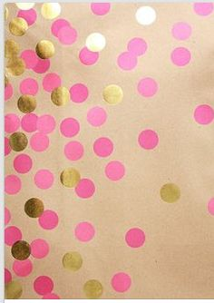 Playroom walls, polka dot black with pewter sprinkled in, random confetti style