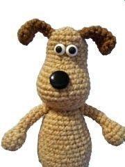 Navidad manualidades Amigurumi Animal Gromit perro cachorro