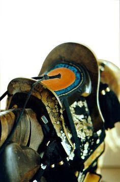 saddle for miniature samurai - view1 by geoffreyhaberman via Flickr
