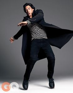 Adam Driver for GQ Magazine 2014 Photographs by Paola Kudacki Art Visage, Kylo Ren Adam Driver, Gq Magazine, Tights Outfit, Reylo, Lady And Gentlemen, Celebs, Celebrities, Attractive Men