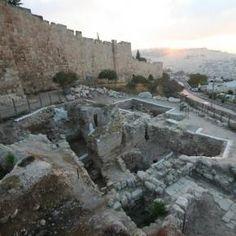 Mansión descubierta en el monte Sión