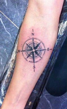 Hecho por #MickeThrash en #TatuajesMéxico #LosMejoresConLosMejores #compass #windrose #blackandgrey