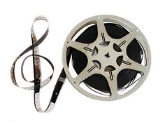 Image result for music note movie reel