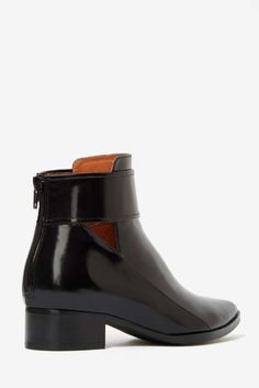 Jeffrey Campbell Starkey Box Leather Boot - Flats | Jeffrey Campbell |  | Boots