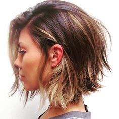 Just when I decide that I prefer long hair, I see this totally posh cut. What to do? #shorthair v. #longhair @modernsalon  #naturalbeauty #beauty #haircare #hair #straighthair #straighthairdontcare