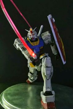 MG 1/100 RX-78-2 Gundam Ver.3.0: Modeled by 三倍速 Painted Build w/Full LEDs