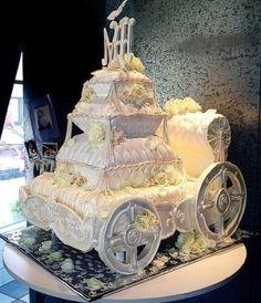 Cinderella Wedding Cake! by Janny Dangerous
