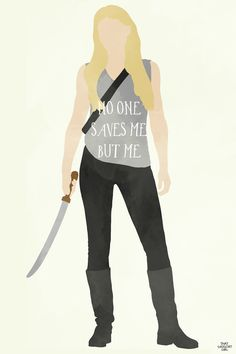 Noone saves me but me. Emma- Once Upon A Time art