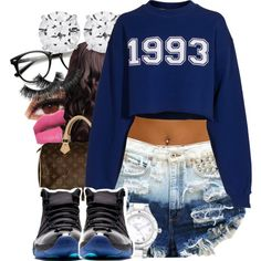 1993, created by mickey-d-that-trill-bishh on Polyvore