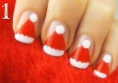 24 Christmas Nails