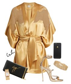 """""""Untitled #134"""" by clynnstyle on Polyvore featuring Carine Gilson, Dsquared2, Lele Sadoughi, Giuseppe Zanotti and Patek Philippe"""