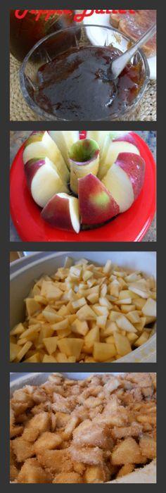 Slow Cooker Crock Pot Apple Butter