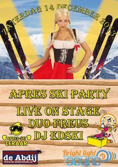 Apres ski feest Abdij Brielle