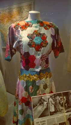 Hackney Rose: Fashion On The Ration at The Imperial War Museum. 30s Fashion, Fashion History, Fashion Dresses, Vintage Fashion, Vintage Costumes, Vintage Outfits, Womens Institute, Make Do And Mend, Contemporary Clothing