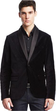 Kenneth Cole Reaction Contrast Velvet Shawl Blazer on shopstyle.co.uk Mens Sport Coat, Sport Coats, Macys Mens, Velvet Shawl, Black Velvet Blazer, Wedding Jacket, Sports Jacket, Blazers For Men, Modern Man