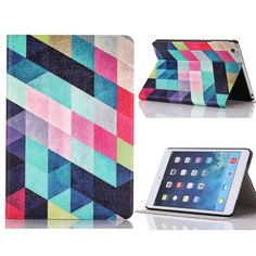 For IPad Mini 1 2 3 Retina Soft Shockproof Flip Stand Leather Smart Case Cover  #pendoshopWholesale