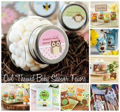 CandlesAndSuch.com Blog -  Owl Themed Baby Shower Favors