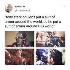 Tony and his worlds Funny Marvel Memes, Marvel Jokes, Dc Memes, Avengers Memes, Superhero Memes, Marvel Dc Comics, Marvel Heroes, Marvel Avengers, The Avengers Assemble