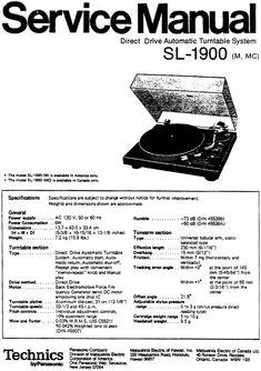 technics sl 1200 mk2 manual